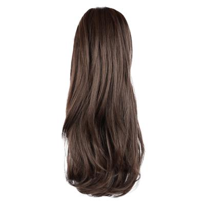 12 - 32 Inch Human Hair Piece Ponytail Extension Drawstring on a Claw Clip Attachment Natural Looking for Women Loose Wave #2