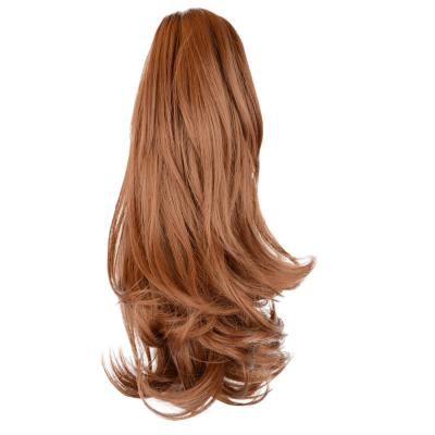 12 - 32 Inch Human Hair Piece Ponytail Extension Drawstring on a Claw Clip Attachment Natural Looking for Women Loose Wave #30