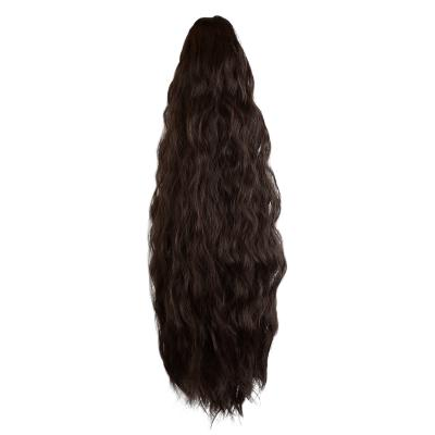 14 - 32 Inch Claw Clip in Ponytail Hair Extension Ponytail Hairpiece for Women Daily Party Use Loose Deep Wave #2