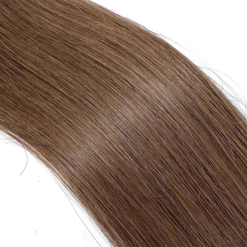 2.5g/s 20pcs Straight Tape In Hair Extensions #6 Light Brown 4