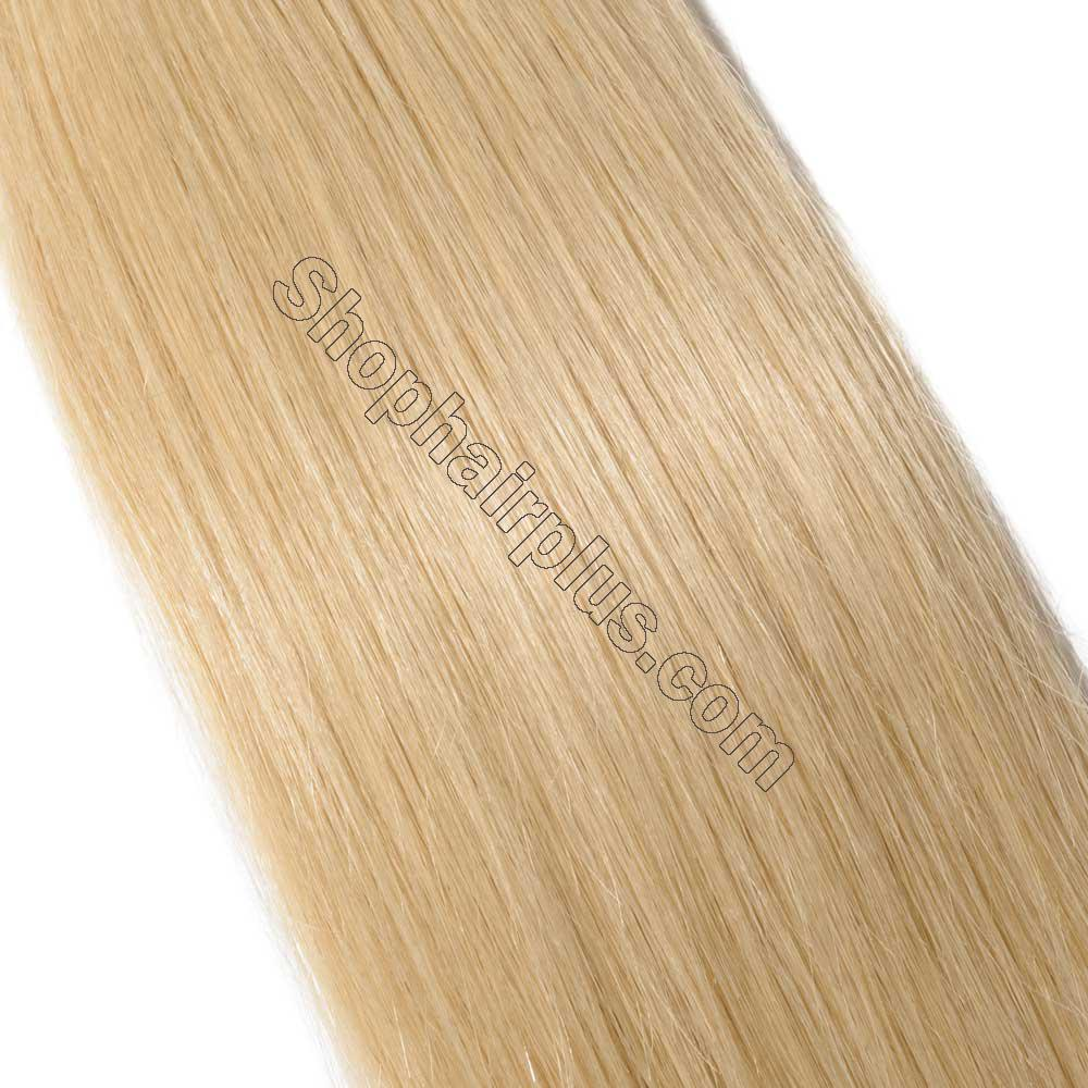 2.5g/s 20pcs Straight Tape In Hair Extensions #613 Bleach Blonde 4