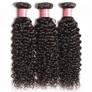3pcs/lot Indian Jerry Curly Hair Human Hair Weft Deals