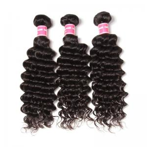 3Pcs/Pack Peruvian Deep Wave Virgin Human Hair Weft