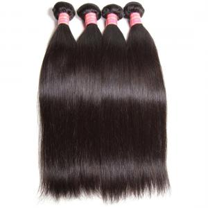 4pcs/pack Virgin Indian Straight Weave Pure Indian Human Hair Natural Color