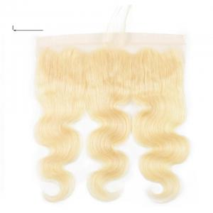 613 Blonde Body Wave Hair 13*4 Lace Closure, 100% Human Hair On Deals