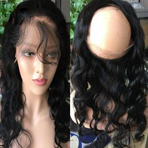 7A Brazilian Hair Body Wave 360 Lace Frontal Closure