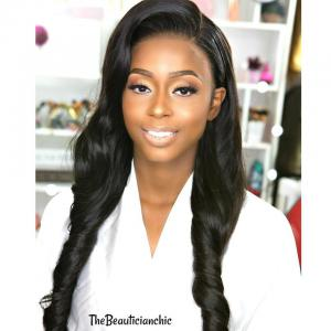 8A Grade Indian Loose Wave 4 Pcs with 4*4 Lace Closure,100% Unprocessed Human Hair Weave