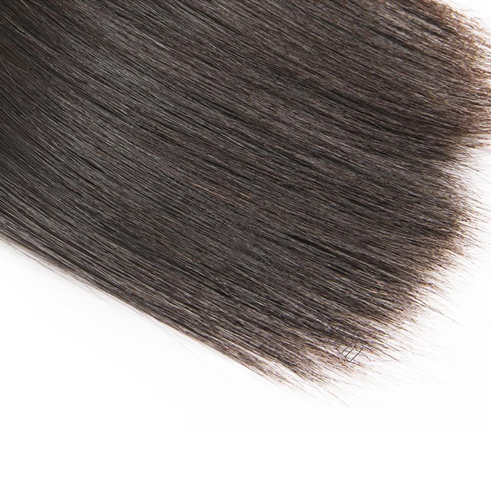 8A Straight Hair 7x7 Lace Closure Virgin Human Hair Free Part Swiss Lace Closure Pre Plucked 6