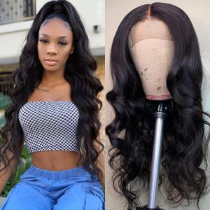 9A 360 Frontal Wig 180%/150% Density Body Wave Virgin Human Hair