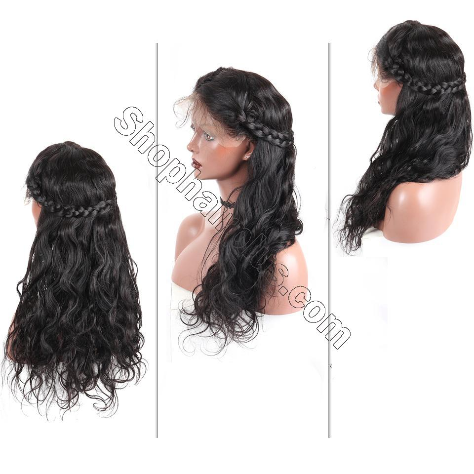 9A Body Wave Lace Front Wig, Human Hair Wigs With Baby Hair, 8-24inch 9