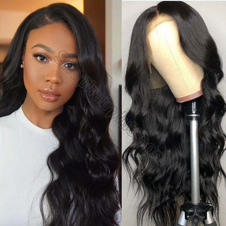 9A Grade 13*4/13*6/360 Lace Front Body Wave Human Hair Wig 180%/150% Densit 2