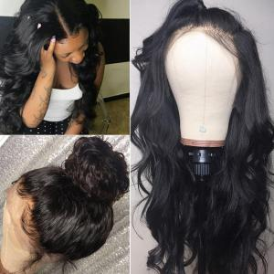 9A Grade 13*4/13*6/360 Lace Front Body Wave Human Hair Wig 180%/150% Densit