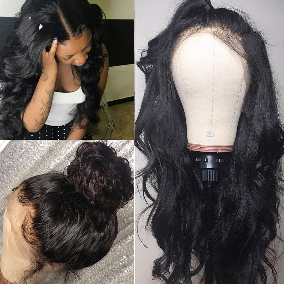 9A Grade 13*4/13*6/360 Lace Front Body Wave Human Hair Wig 180%/150% Densit 12
