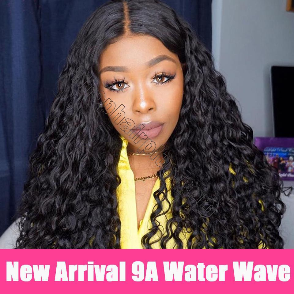 9A Grade Water Wave 13*6 Lace Front Human Hair Wig, 150% Densit 7
