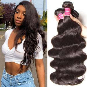 Brazilian Hair Body Wave Human Virgin Hair Weft 3Bundles/Pack