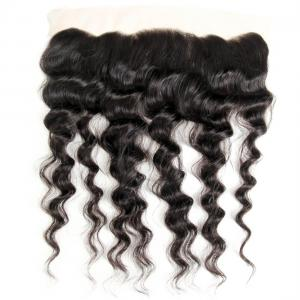 Brazilian Natural Wave Lace Frontal Closure Human Virgin Hair