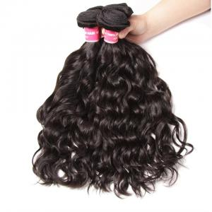 Brazilian Natural Wave Virgin Human Hair Weave Extensions 3pcs/Pack