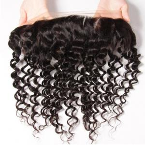 Deep Wave 13*4 Ear to Ear Lace Frontal Closure