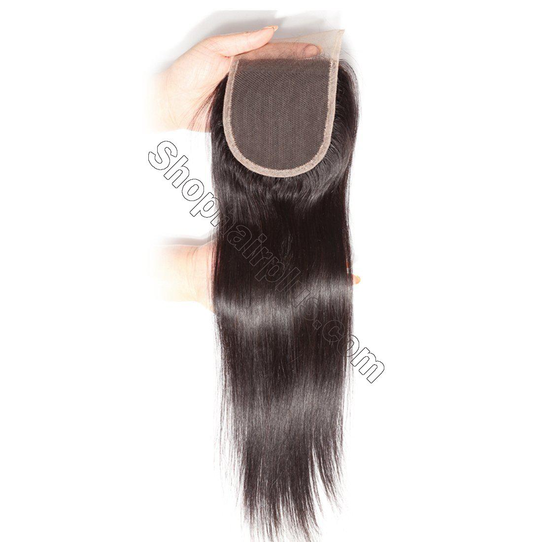 Hot sale Straight Hair 4x4 Lace Closure 2