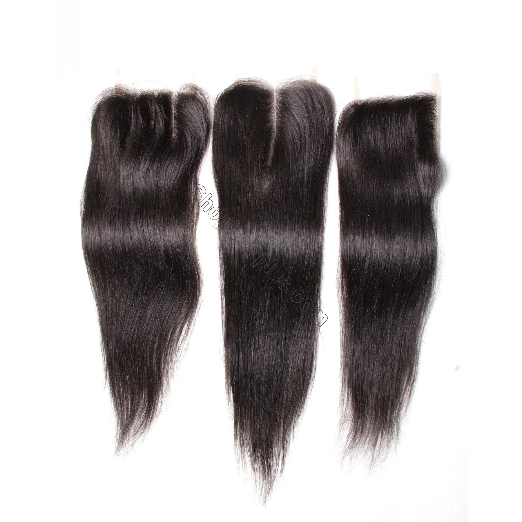 Hot sale Straight Hair 4x4 Lace Closure 7