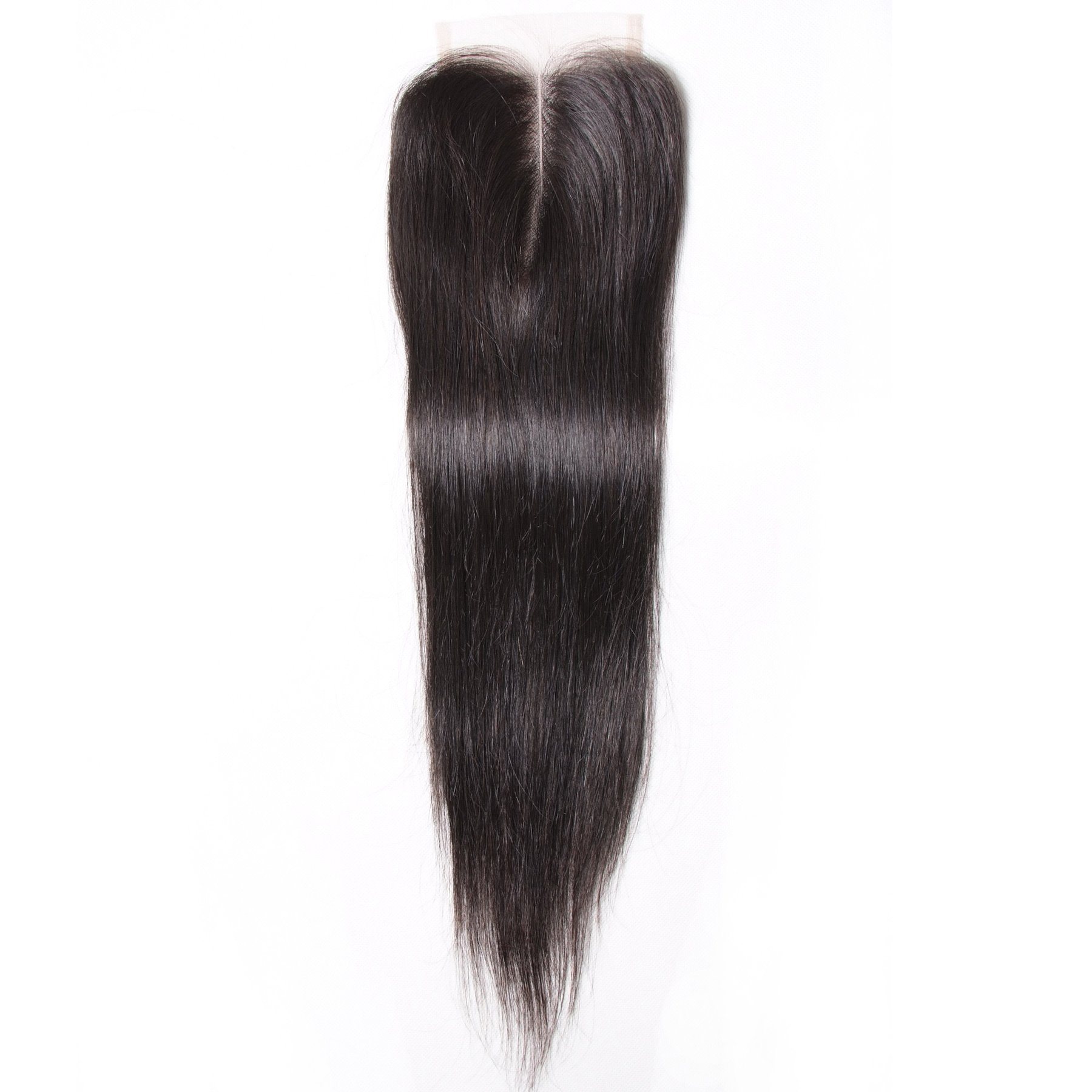 Hot sale Straight Hair 4x4 Lace Closure 9