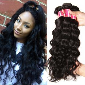 Malaysian Natural Wave 3 Bundles, 100% Virgin Malaysian Hair Weave on Sale