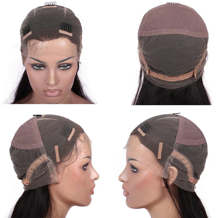 Glueless full lace wig cap